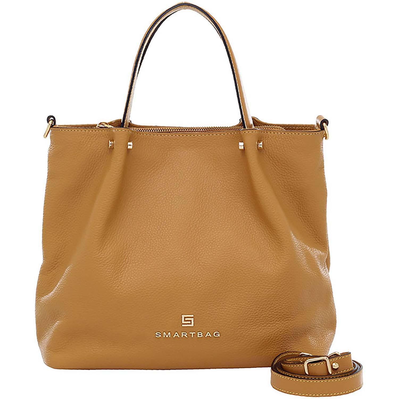 0a99725a4b Bolsa Alça de Mão Couro Mostarda - Smartbag