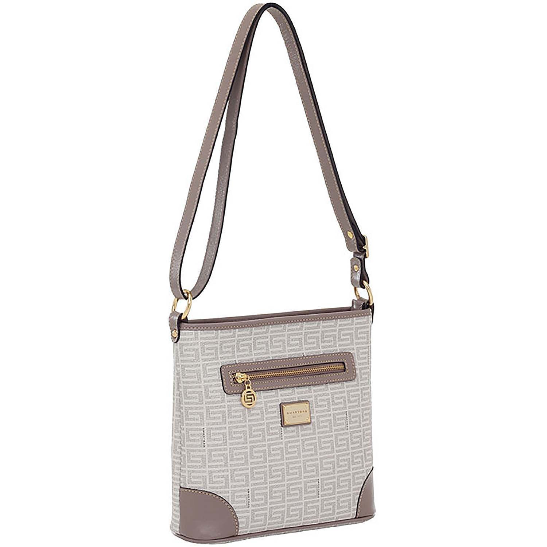 bc71300fb Bolsa Transversal Veneza Creme / Taupe - 86007.18 - Smartbag