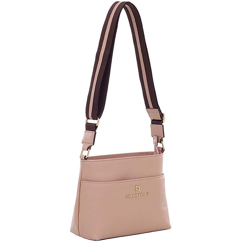 bd583ade0c Bolsa Transversal Couro Pele - Smartbag