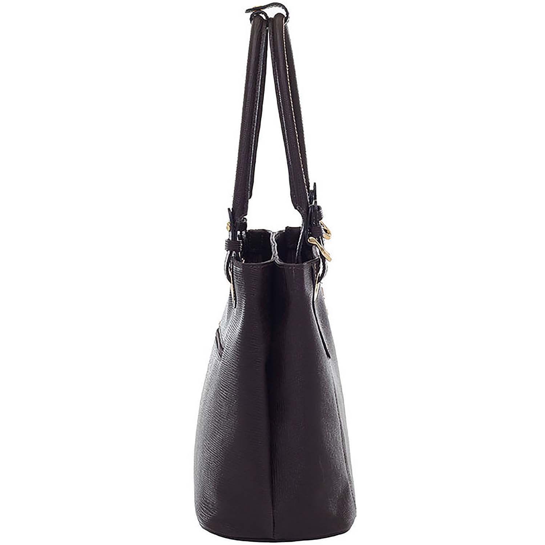 f8103d057a498 Bolsa Tiracolo Couro Café - Smartbag