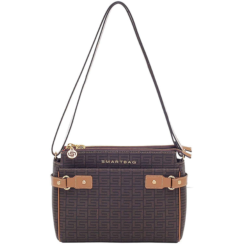 b671de070 Bolsa Transversal Veneza Chocolate / Amendoa - 86098.18 - Smartbag
