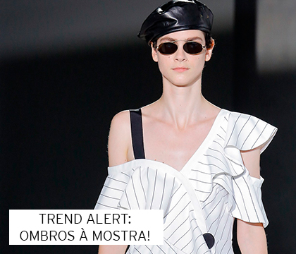Trend alert: Ombros a mostra