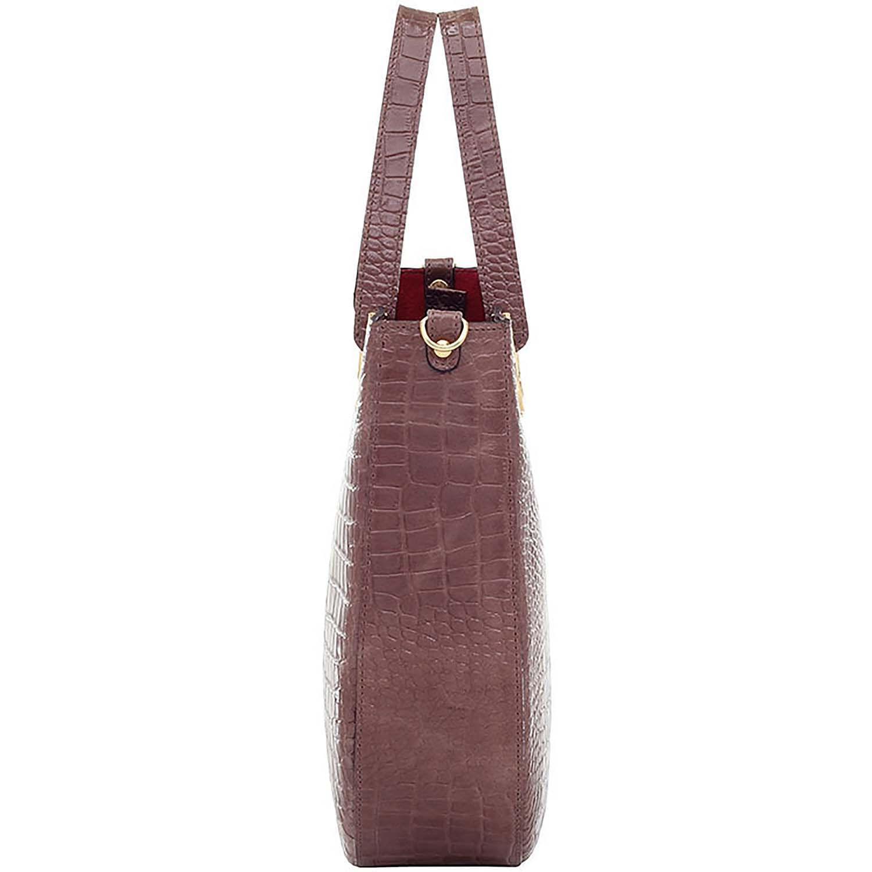 0e0bd67b2 Bolsa Alça de Mão Couro Croco Fendi - Smartbag