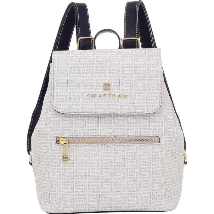 Mochila-Smartbag-Veneza-Creme-Preto-86085.18-1