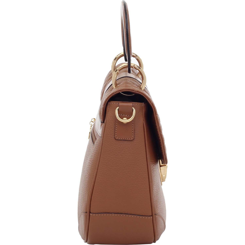 3dc4c82a9 Bolsa Alça de Mão Couro Whisky - Smartbag