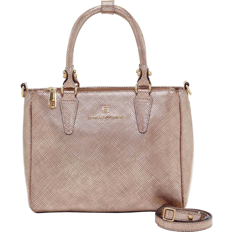 10d452a6c7a Bolsa Alça de Mão Ráfia Metalizada - Smartbag