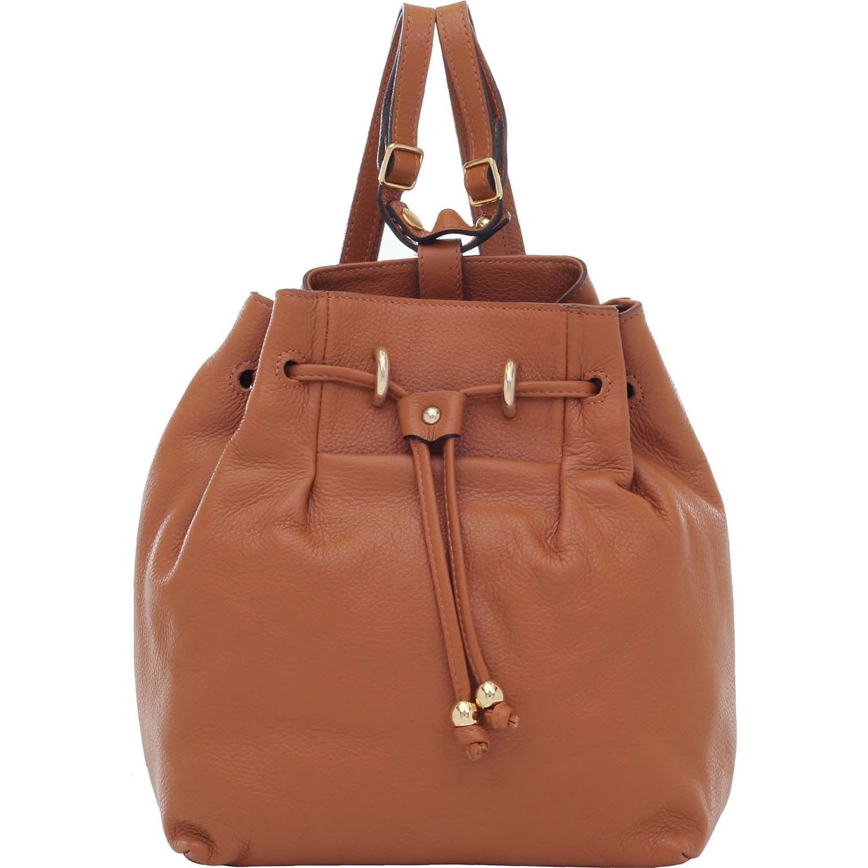 98021f1b73 Bolsa Mochila Couro Whisky - Smartbag