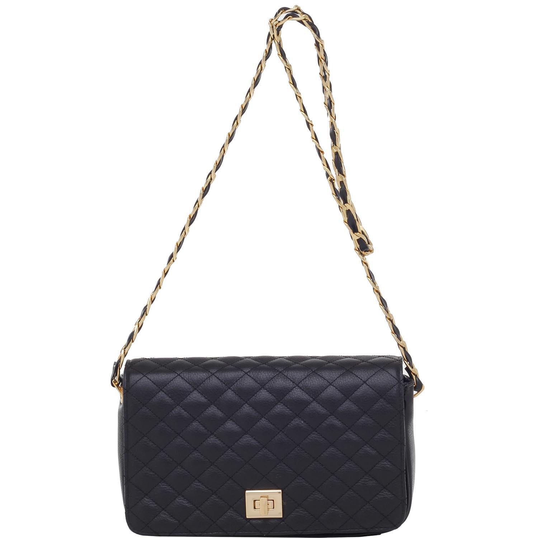ff600747ef Bolsa Transversal Smartbag Couro Preto - 79163.16 - Smartbag