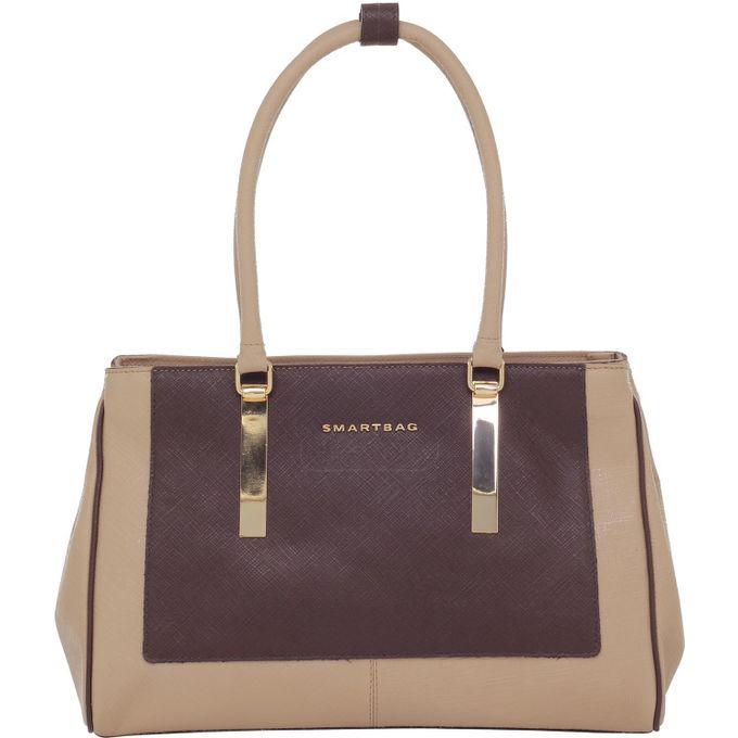 Bolsa-Smartbag-safiano-areia-chocolate-79072.16-1