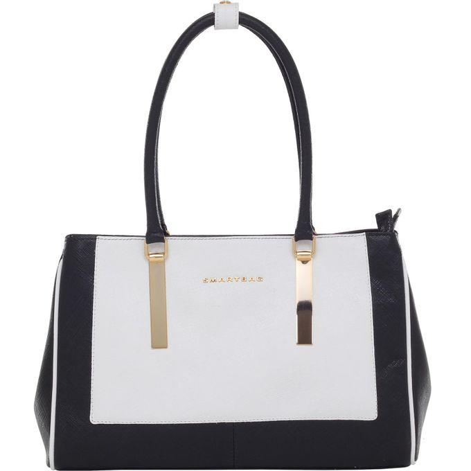 Bolsa-Smartbag-safiano-Preto-branco-79072.16-1