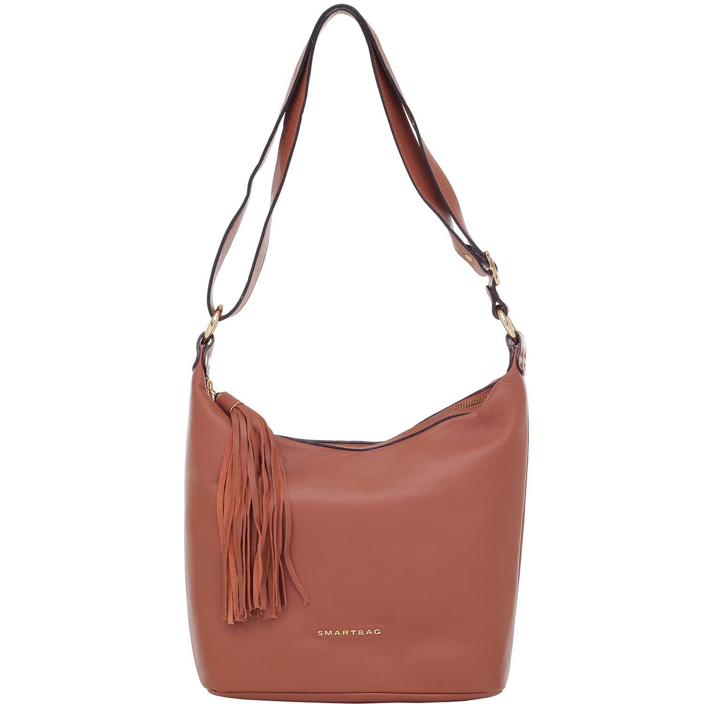 2c7e7d4f2 Bolsa Transversal Smartbag Couro Caramelo - 78059.15. Previous. Loading  zoom · Loading zoom