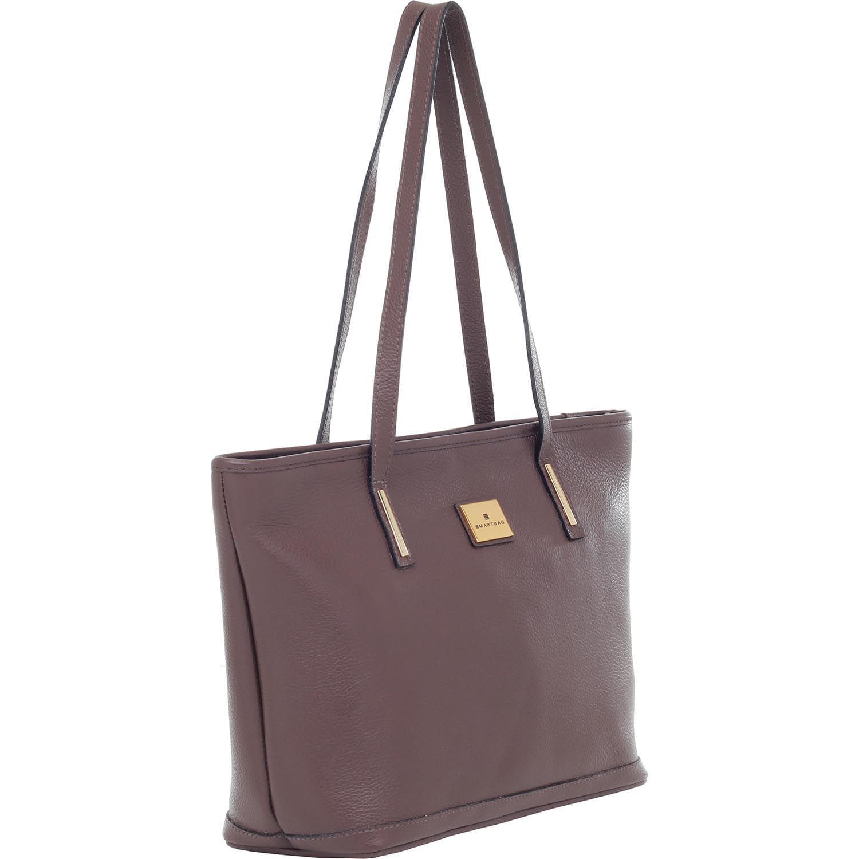 7cedb2fd8 Bolsa Tiracolo Smartbag Couro Chocolate - 79028.16. Previous. Loading zoom  · Loading zoom · Loading zoom