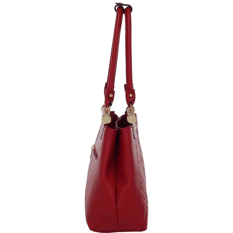 4a6bb749c Bolsa Tiracolo Smartbag Couro Tomate - 75028.19 - Smartbag