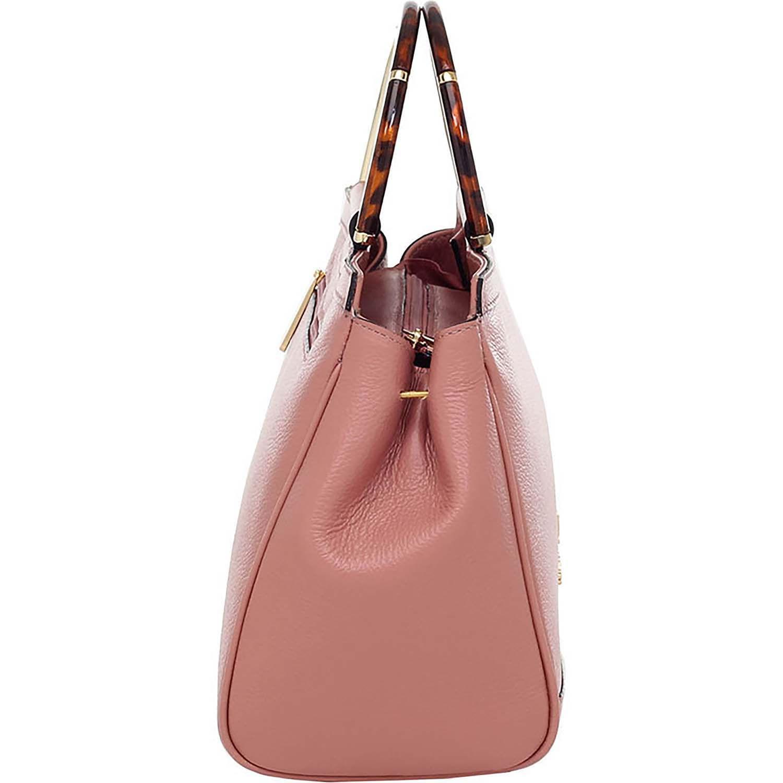 2c1ea3237c Bolsa Alça de Mão Smartbag Couro Rosê - 76037.19 - Smartbag