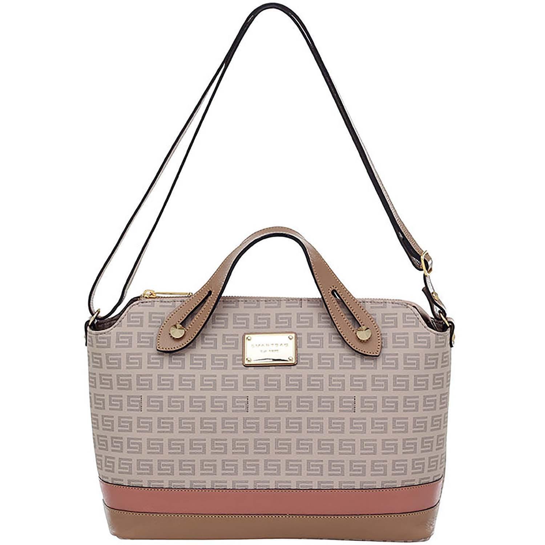 568765f55a Bolsa Alça de Mão Smartbag Milano Nude Couro Rose - 86133.19. Previous.  Loading zoom · Loading zoom