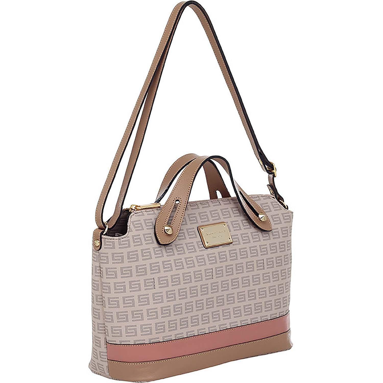 5c8ab6c87b Bolsa Alça de Mão Smartbag Milano Nude Couro Rose - 86133.19 - Smartbag