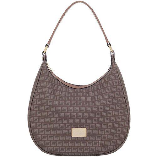 713880422 Bolsa Tiracolo Smartbag Milano Caqui Couro Fendi - 86122.19