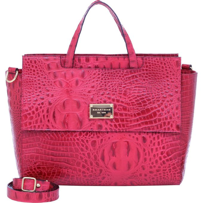 Bolsa-Smartbag-Couro-croco-Vermelho-70055.16---1