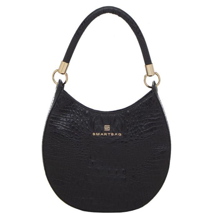Bolsa-Smartbag-Couro-croco-Preto-75071.19-1