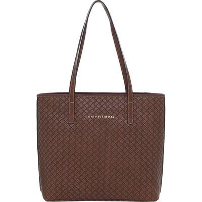 Bolsa-Smartbag-couro-trancado-castanho-74096.18-1