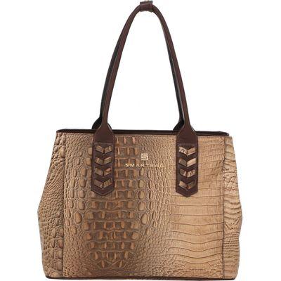 Bolsa-Smartbag-Couro-croco-bege-castanho-75070.19-1